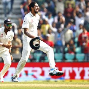 'Pleased to see Ishant as the leader of India's pace attack'
