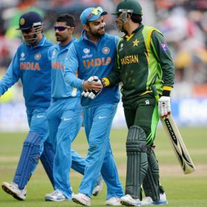 'India-Pakistan match will be a final before the final'