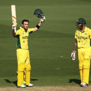 PHOTOS: Warner, Maxwell tons expose India's bowling frailties