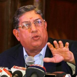 Srinivasan did most of the talking at BCCI meeting in Chennai