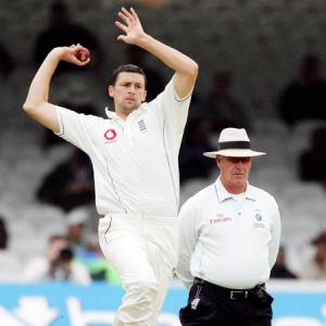 Former Ashes star bowler Harmison becomes football manager