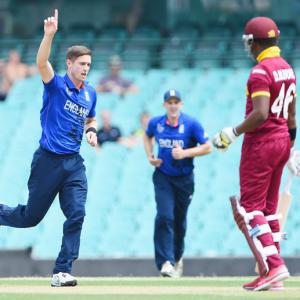 Woakes helps England crush Windies in World Cup warm-up