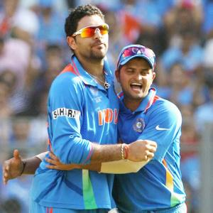I want to play Yuvraj Singh's role in this World Cup: Raina