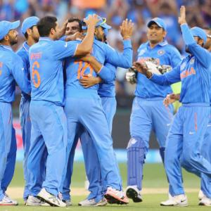 PHOTOS: India thrash South Africa by 130 runs for second win