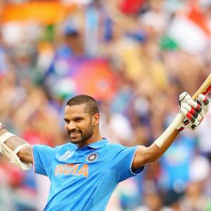 Dhawan stars as India break World Cup jinx against South Africa
