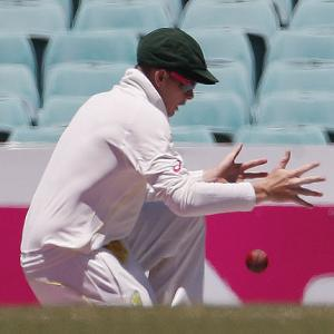 Smith holds Spidercam guilty for dropped catch