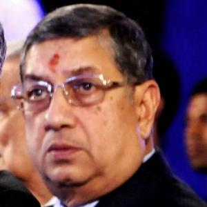 Srinivasan barred from contesting BCCI elections