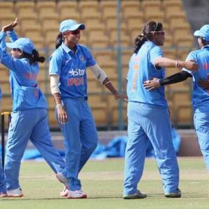 Indian women complete series sweep against WI women