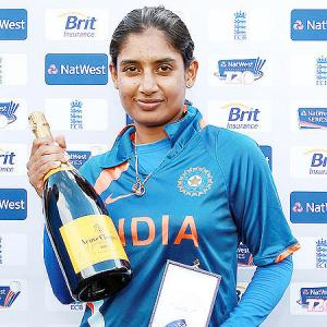 5,000 runs and counting... It's Mithali's raj!