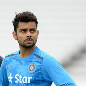 'Virat is very aggressive, upfront and on the face'