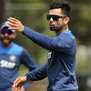 'Everyone is excited by the opportunity of playing against Kohli'