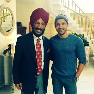 Milkha Singh hosts cast of Dil Dhadakne Do
