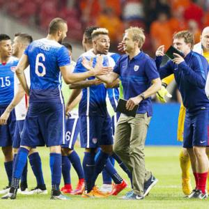 US fight back to stun Dutch 4-3 in football friendly