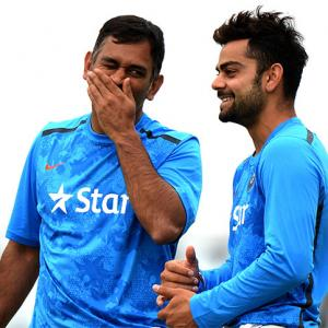 'Dhoni functioned in a quiet way, Kohli has an aggressive intent'