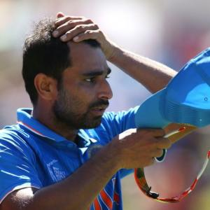 Played with a knee injury during the World Cup: Shami