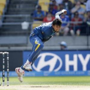 Sri Lanka's Lakmal fined half match-fee for misconduct