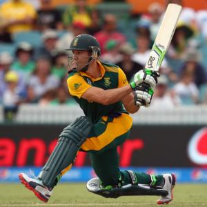 De Villiers overtakes Gayle in World Cup MVP standings