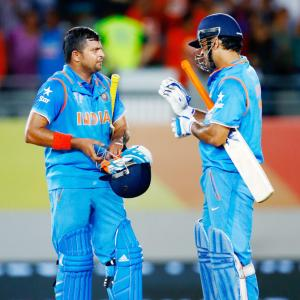 You can't disrespect Dhoni and his achievements: Raina