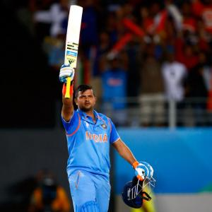 Raina's century helps India extend unbeaten World Cup record