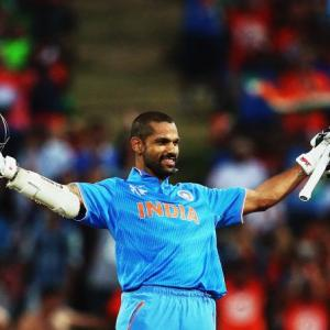REVEALED: The secret behind Dhawan's success at the World Cup