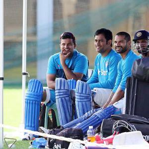 How is Raina preparing for the massive Aus test in semis?