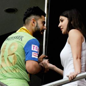 Kohli served notice for meeting Anushka during IPL match