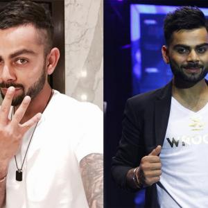 Wish India captain Kohli on his 27th birthday!