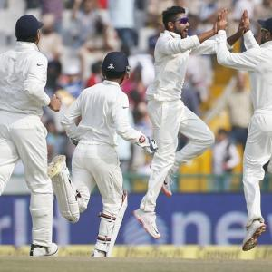 Congratulate Team India on their Mohali win!