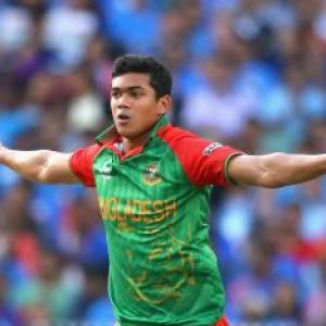 Massive blow to Bangladesh! ICC suspends bowlers Taskin, Sunny