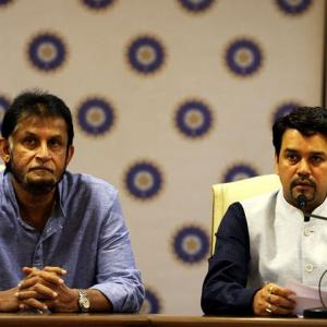 Why BCCI boss Thakur is angry with former chief selector Patil