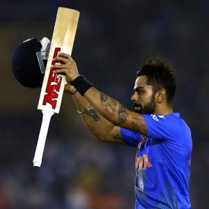 Kohli named World T20 player of the tournament