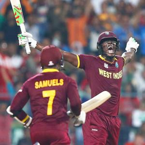 PHOTOS: Brathwaite, Samuels win World T20 title for Windies