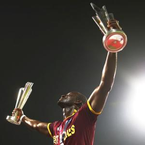 Darren Sammy did not smile