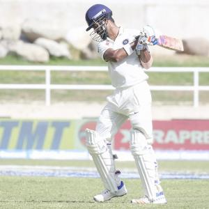 PHOTOS: India build big lead on Day 2 against West Indies