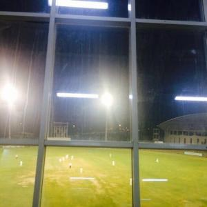 Floodlight malfunction grabs more attention than Pink ball