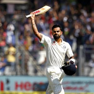 Magnificent Kohli follows in Tendulkar's footsteps