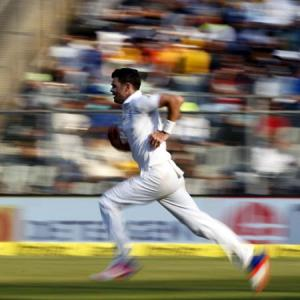 England's Anderson out of Chennai Test with injury