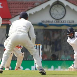 Stats: Rashid posts highest Test score vs India