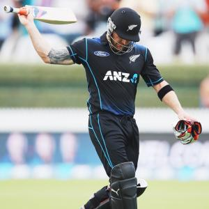 Brendon McCullum scores 47 in ODI swansong