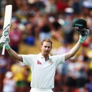 The long and short of Adam Voges's Don Bradman-esque rise
