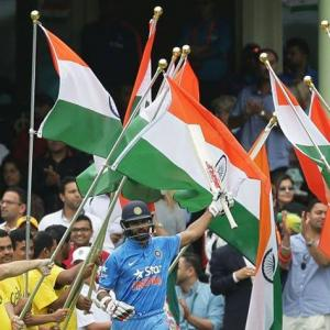 Dhawan jumps on political bandwagon: Supports hoisting national flag at universities