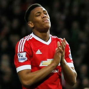 Martial to be rested for West Ham tie as United vie for top-four finish