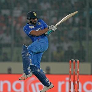 Asia Cup stats: Rohit, Nehra set new milestones