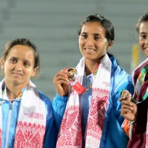 South Asian Games: India win five athletics gold on Day 1