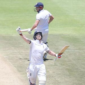 2nd Test: Stokes strikes double ton on record-breaking day