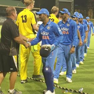 ODI warm-up: Rohit, Pandey star in India's win at WACA