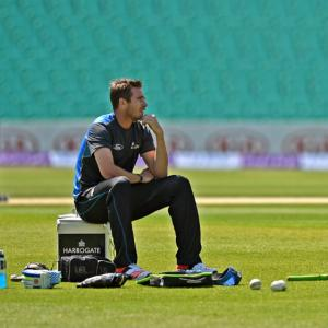 Injured Southee ruled out of India Test series