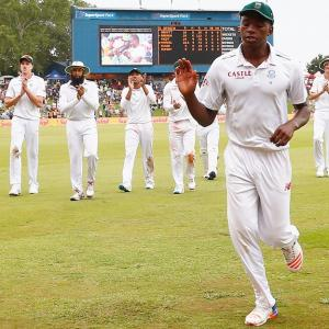 Centurion Park Test: Rabada puts South Africa in control