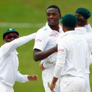 Red-hot Rabada sinks England in fourth Test