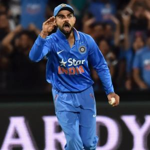 Kohli explains fiery send-off